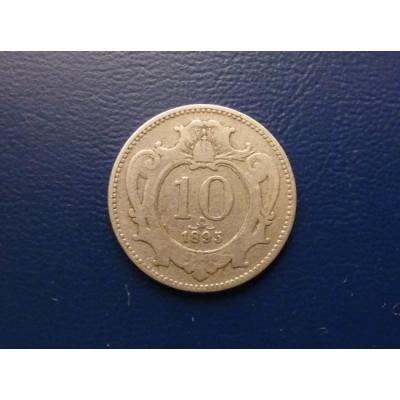 10 Heller 1895