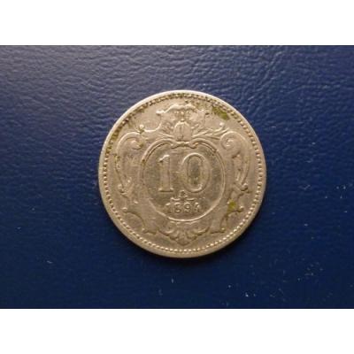 10 haléřů 1894