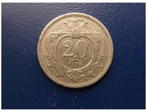 20 haléřu 1894