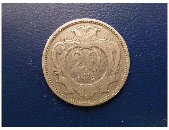 20 haléřů 1895