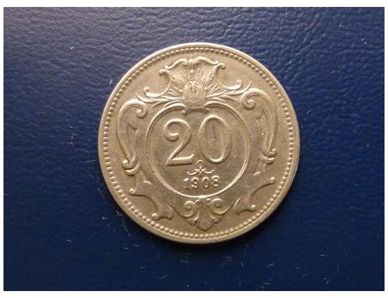 20 haléřu 1908