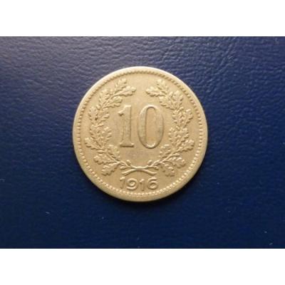 10 haléřů 1916