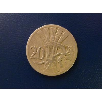20 haléřů 1928