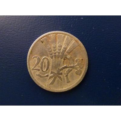 20 haléřů 1922