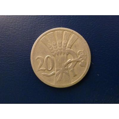 20 haléřů 1921
