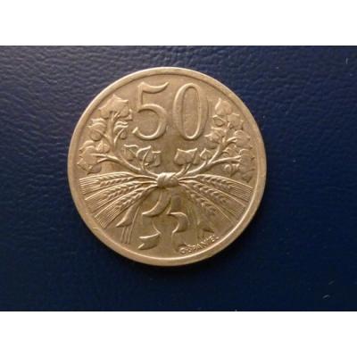 50 haléřů 1931