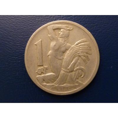 1 koruna 1924