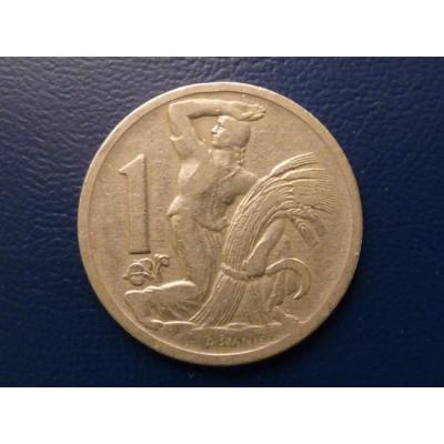 1 koruna 1929