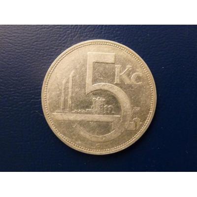 5 korun 1932 RR
