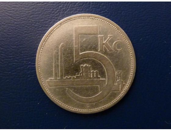 5 korun 1929