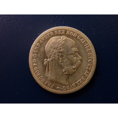 František Josef I. - stříbrná mince 1 koruna 1900