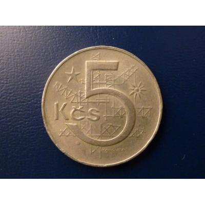 5 korun 1984