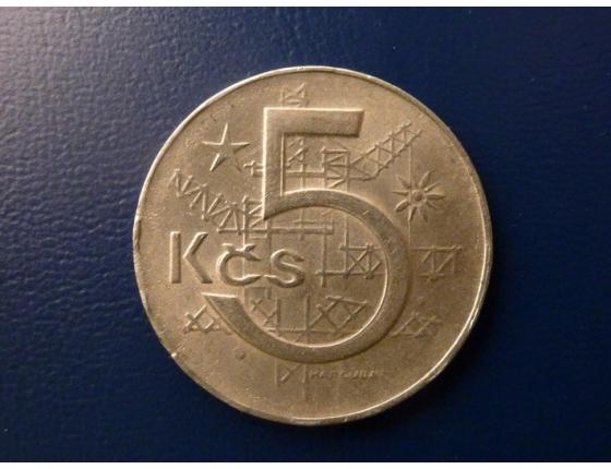 5 korun 1985
