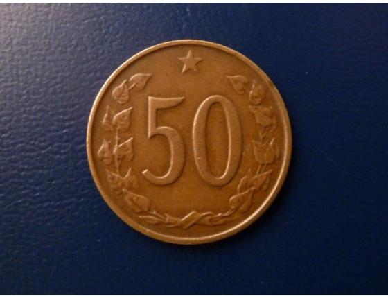 50 haléřů 1964