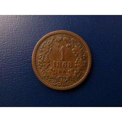 1 krejcar 1868