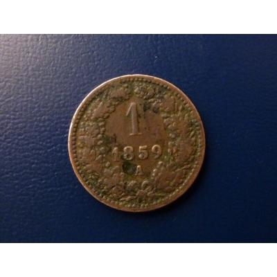 1 krejcar 1859
