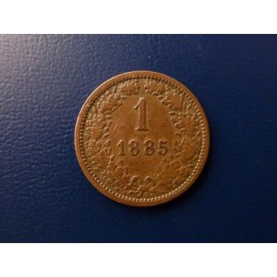 1 krejcar 1885