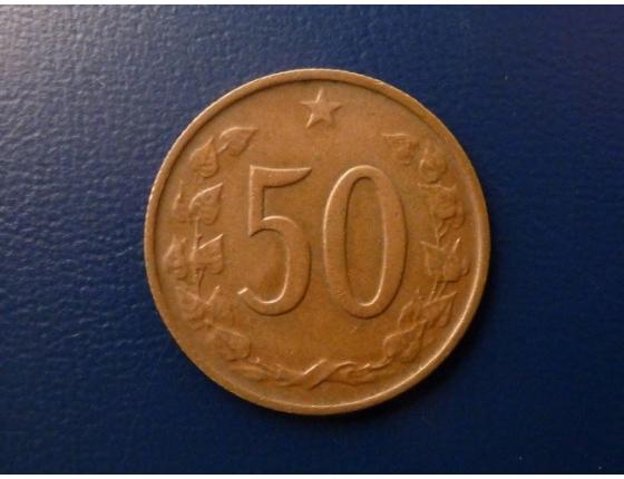50 haléřů 1965