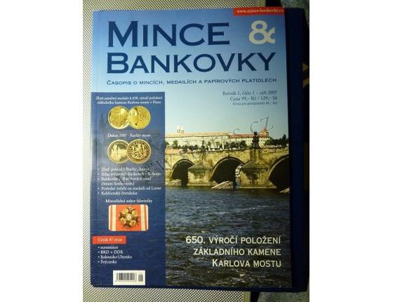 ANTIKVARIÁT - Mince a bankovky 1/2007