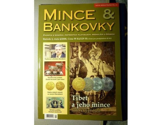 ANTIKVARIÁT - Mince a bankovky 6/2008