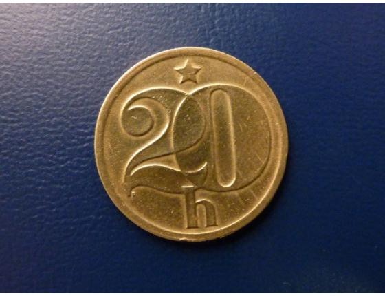 20 haléřů 1972