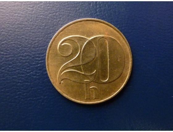 20 haléřů 1992