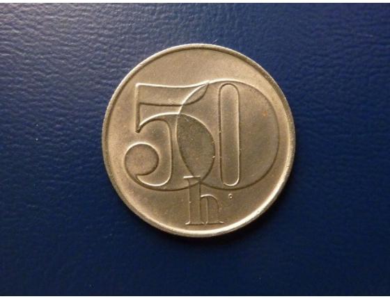 50 haléřů 1992