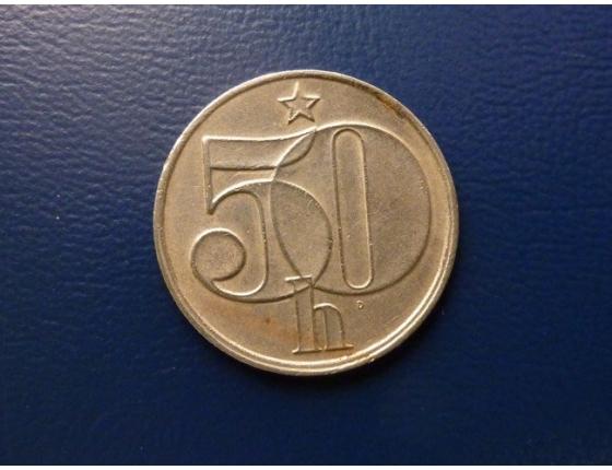 50 haléřů 1986