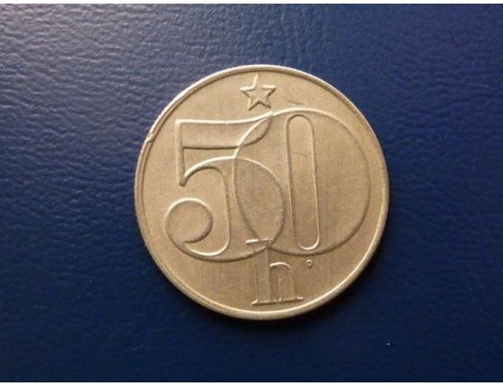 50 haléřů 1989