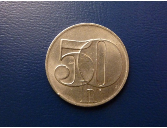 50 haléřů 1991