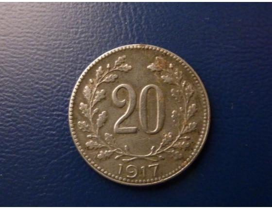 20 haléřů 1917