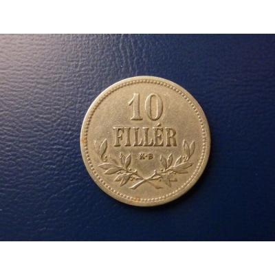 10 haléřů 1915