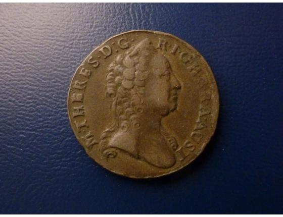 1 krejcar 1763