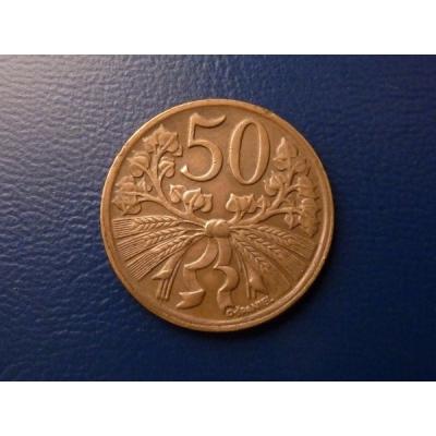 50 haléřů 1949