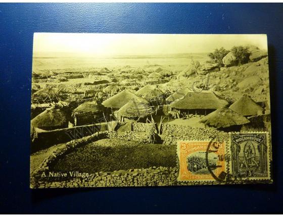 A Native Village - Mozambique