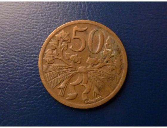 50 haléřů 1948