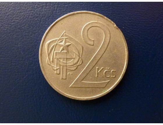2 koruny 1986