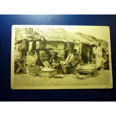 Afrika - Postkarte Mogadiscio (Somalia Italiana)