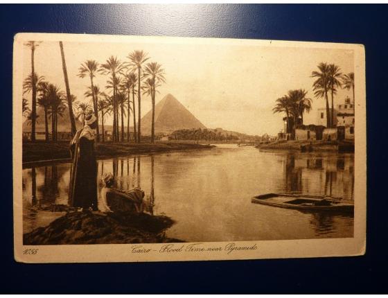 Cairo - Flood Time near Pyramids
