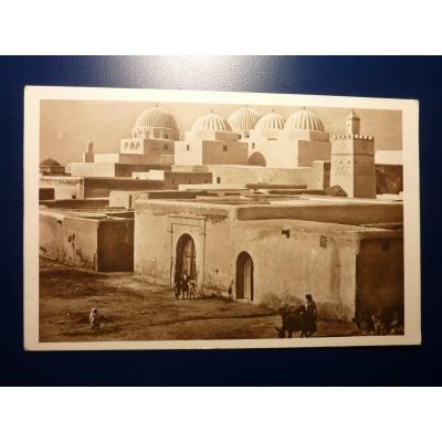 Afrika - pohlednice Kairouan - La Mosquée des Sabres