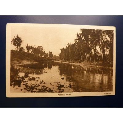 Kypr - pohlednice Nicosia River
