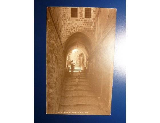 Jerusalem - Street at eight station