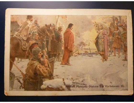 Smíření Přemysla Otakara I. s Vladislavem III.