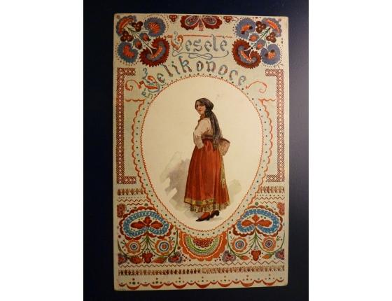 Velikonoce - Chodsko 1908