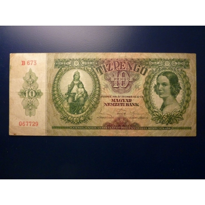 10 Pengo 1936