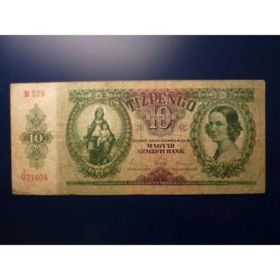 10 Pengo 1936, platná na našem území