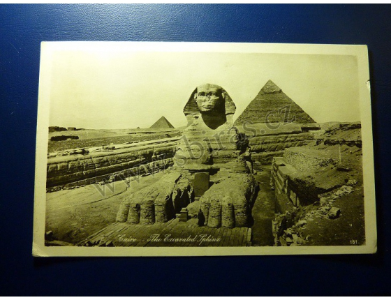 Egypt - Cairo - The Excavated Sfinx