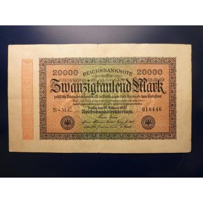 20 000 Mark 1923