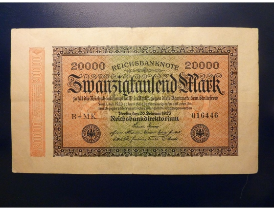 20 000 Marek 1923