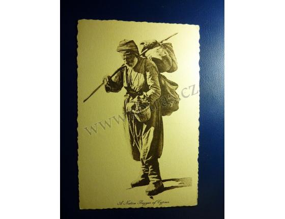 Cyprus - A Native Beggar of Cyprus
